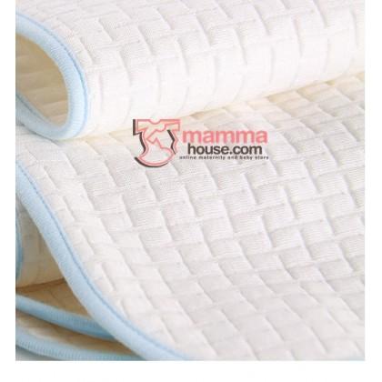 Baby waterproof mat - Pure White (size M)