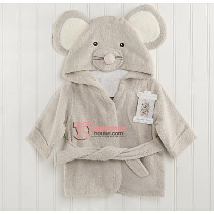 Baby Bathrobe - Mouse