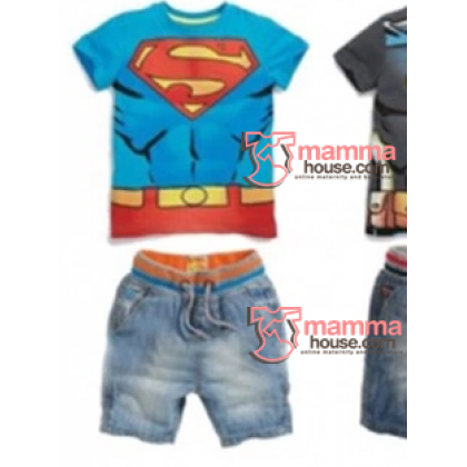 Baby Clothes - 2 pcs Superman