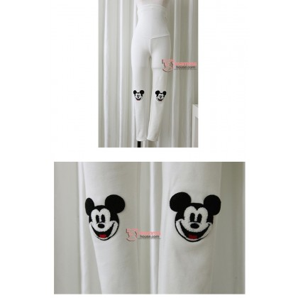 Long Legging - Long Mickey White