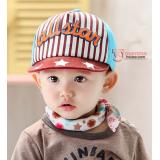 Baby Cap - Baseball Brown