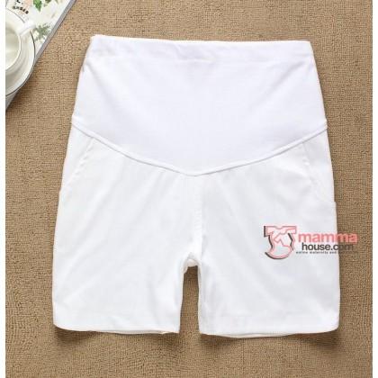 Maternity Shorts - KR Vogue White or Black