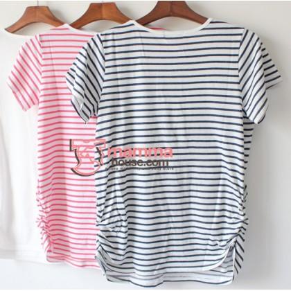 Nursing Tops - Japan Stripe 2 Colors