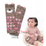 Baby Legging - Cutie Heart Bear