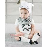 Baby Socks - Korean Long Mice White