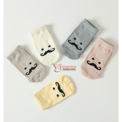 Baby Socks - Korean Big Beard (4 colors)