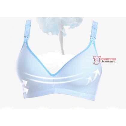 T Nursing Bra - Joy Seamless Dark Blue