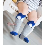 Baby Socks - Korean Wolf Mixed Grey