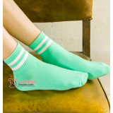 Confinement Sock - Stripe Green