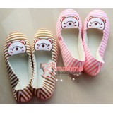 Mamma shoes - Bear Stripe (Brown or Pink)