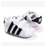 Baby Shoes - Adidas White