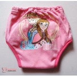 Japanese Training Pants - Anna Elsa Pink (size 95 only)