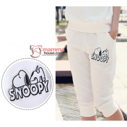 Maternity Set - 2 pcs Snoopy Black or White