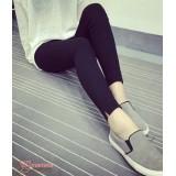 Maternity Long Pants - Legging Opening V Black