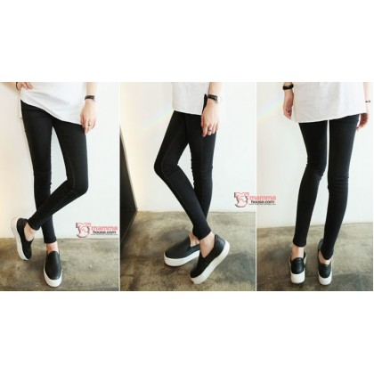 Maternity Jeans - Slim Jeans Black