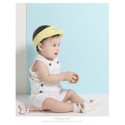 Baby Cap - Crown Cap Yellow