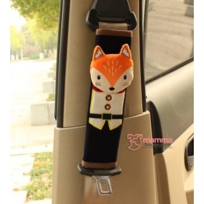 Baby Safety Belt Protector - Wolf