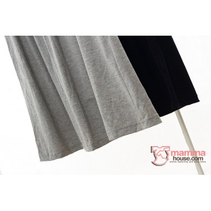 Nursing Dress - JP Cotton Dark Blue or Grey