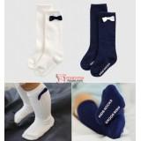 Baby Socks - Korean Long Princess Ribbon