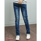 Maternity Jeans - Straight Jeans Blue