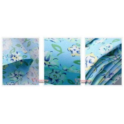 Nursing Cover Sheet - Square Blue