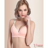 T Nursing Bra - 1 pc Smooth Pink