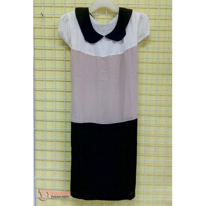 Maternity Dress - 3 Colors (Pink or Almond)