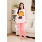 Mamma Pajamas - Long Fancy Pink (Set)