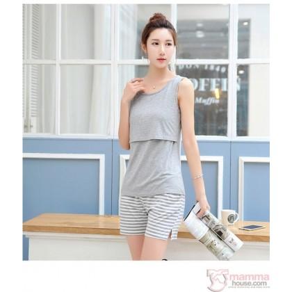 Nursing Singlet - Simple Singlet Grey