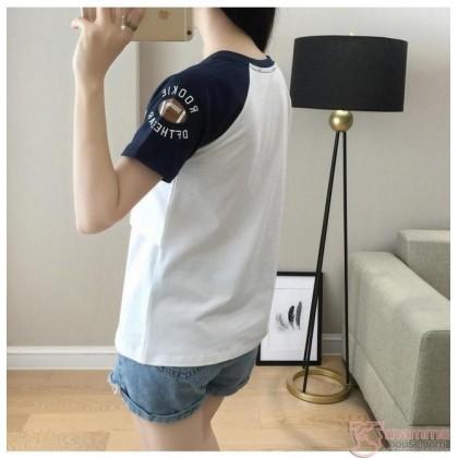 Nursing Tops - Cotton Rookie (Blue or Maroon)