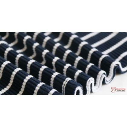 Nursing Dress - Long Stripe