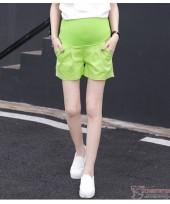 Maternity Shorts - Green Shorts Cool