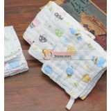 Baby Handkerchief - 6 Layer Cotton Guaze (24x24cm)