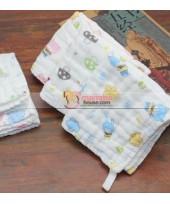 Baby Handkerchief - 6 Layer Cotton Guaze (24x24cm)