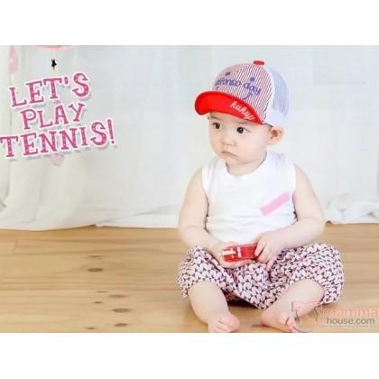 Baby Hat - Alfon Light Red