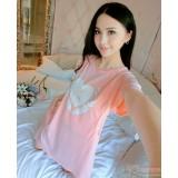 Mamma Pajamas - Dress Love Pink