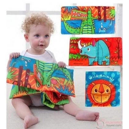 Baby Soft Book - Coco, Dino & Lion