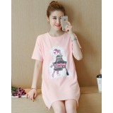 Nursing Tops - Cotton Lady Pink