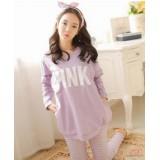 Mamma Pajamas - Long Purple (PINK)