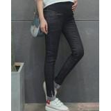 Maternity Jeans - Fold Line Black