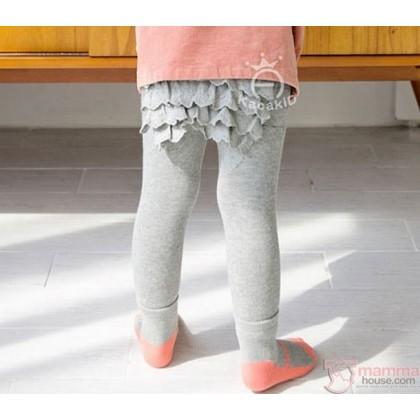 Baby Hose - Korean Hips Flora (2pcs Set) Grey
