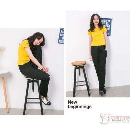Maternity Long Pants - Working Straight Cut