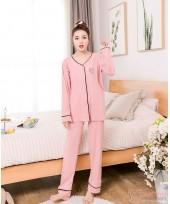 Mamma Pajamas - Long Line Sweet Pink