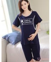 Mamma Pajamas - Snoopy Dark Blue