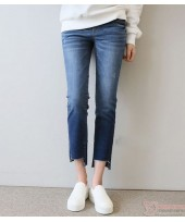 Maternity Jeans - Trend 9 Straight Fit Blue