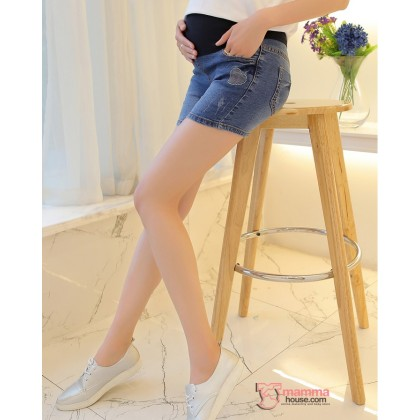 Maternity Shorts - Love Jeans