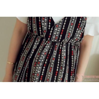 Maternity Dress - Forge 2pcs Vert Diamond