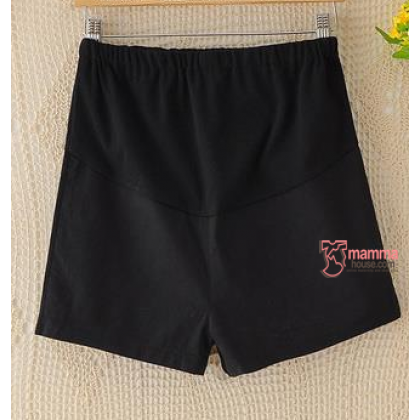 Maternity Shorts - Mini Mini Black