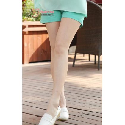 Maternity Shorts - Mini Mini Green SHINE
