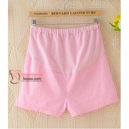 Maternity Shorts - Mini Mini Pink